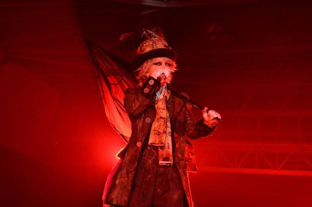 10月26日(金)@『HALLOWEEN PARTY 2018 supported by XFLAG』(HYDE)