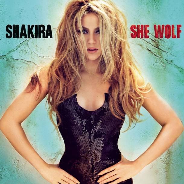 「She Wolf」収録アルバム『She Wolf』/Shakira