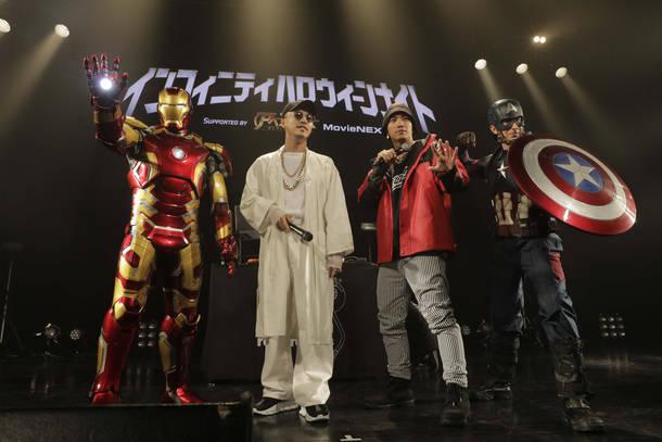 10月26日(金)@東京・マイナビBLITZ赤坂(SWAY、AK-69)