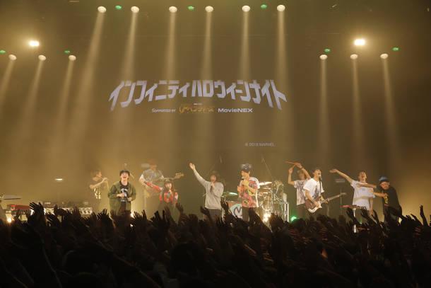 10月27日(土)@東京・マイナビBLITZ赤坂(Mrs. GREEN APPLE、東京カランコロン、坂口有望)
