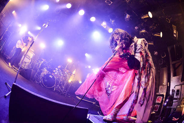 2018年10月27日 at 渋谷CLUB QUATTRO Photo by RUI HASHIMOTO (SOUND SHOOTER)