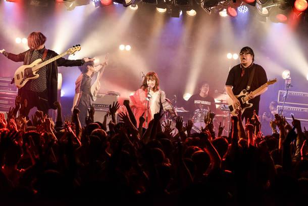 2018年10月27日 at 渋谷CLUB QUATTRO Photo by RUI HASHIMOTO (SOUND SHOOTER)