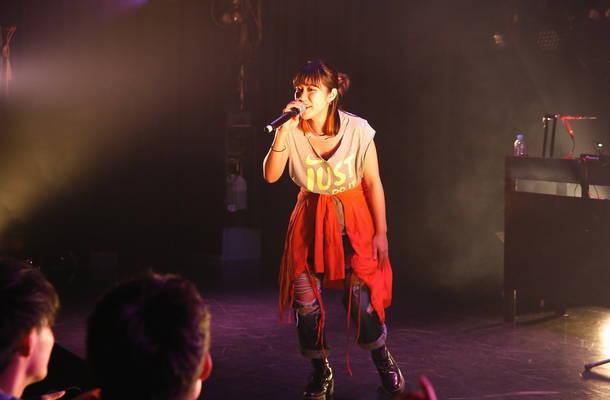 11月2日@渋谷・clubasia(大城美友) photo by 森 久