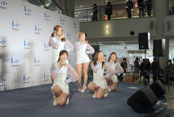 11月7日@ららぽーとTOKYO-BAY中央広場