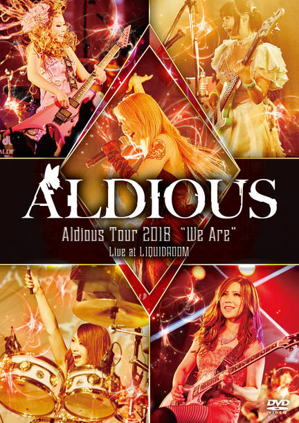 "DVD『Aldious Tour 2018 ""We Are"" Live at LIQUIDROOM』"