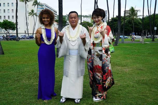 11月25日(日)@ハワイ・ニール・ブレイズデル・コンサートホール