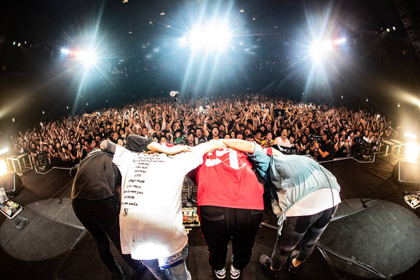 2018年11月19日 at Zepp Tokyo(撮影:TAKAHIRO TAKINAMI)