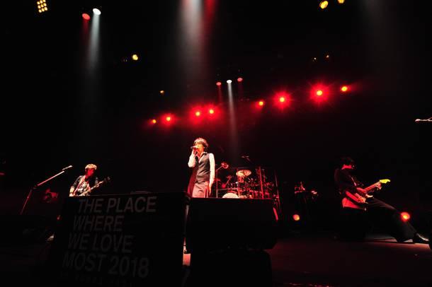 【シド ライヴレポート】 『SID 15th Anniversary  LIVE HOUSE TOUR  「いちばん好きな場所 2018」』 2018年11月21日  at マイナビBLITZ赤坂