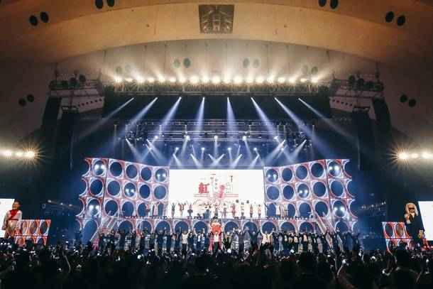『桑田佳祐 Act Against AIDS 2018 「平成三十年度! 第三回ひとり紅白歌合戦」』 photo by 西槇太一
