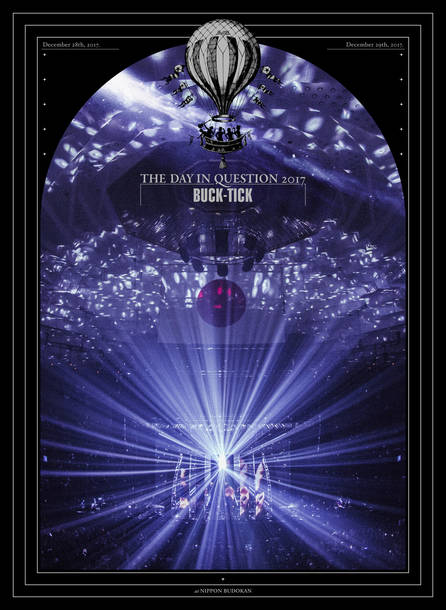Blu-ray&DVD『THE DAY IN QUESTION 2017』