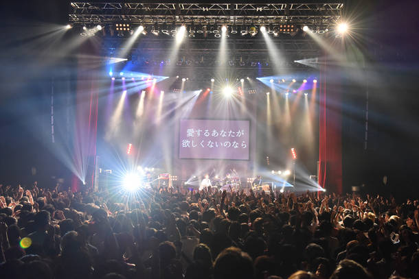 12月7日@Zepp Tokyo Photo by MAKIKO TAKADA