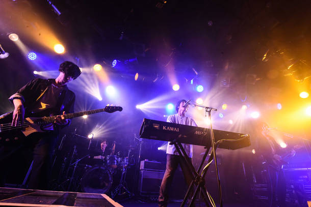 """【SHE'S ライヴレポート】 『SHE'S Autumn Tour 2018  """"The One""""』 2018年11月29日  at 渋谷CLUB QUATTRO"""