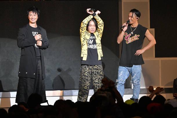 2018年12月12日 at 新木場STUDIO COAST(SWAY、斎藤 工、永野)