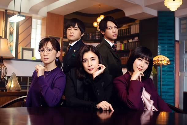 フジテレビドラマ『スキャンダル専門弁護士 QUEEN』キービジュアル