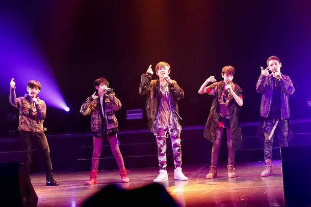 12月16日@AiiA 2.5 Theater Tokyo(BATTLE BOYS OKINAWA)