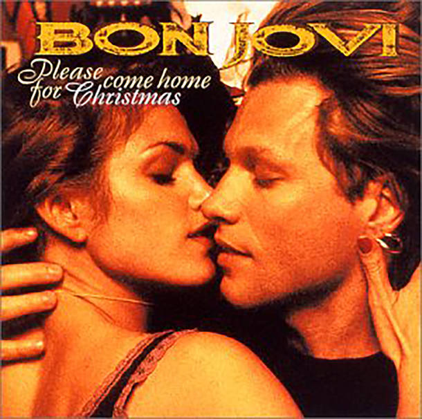 シングル「Please Come Home For Christmas」/BON JOVI