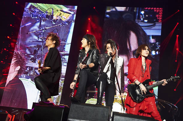 【LUNA SEA ライブレポート】