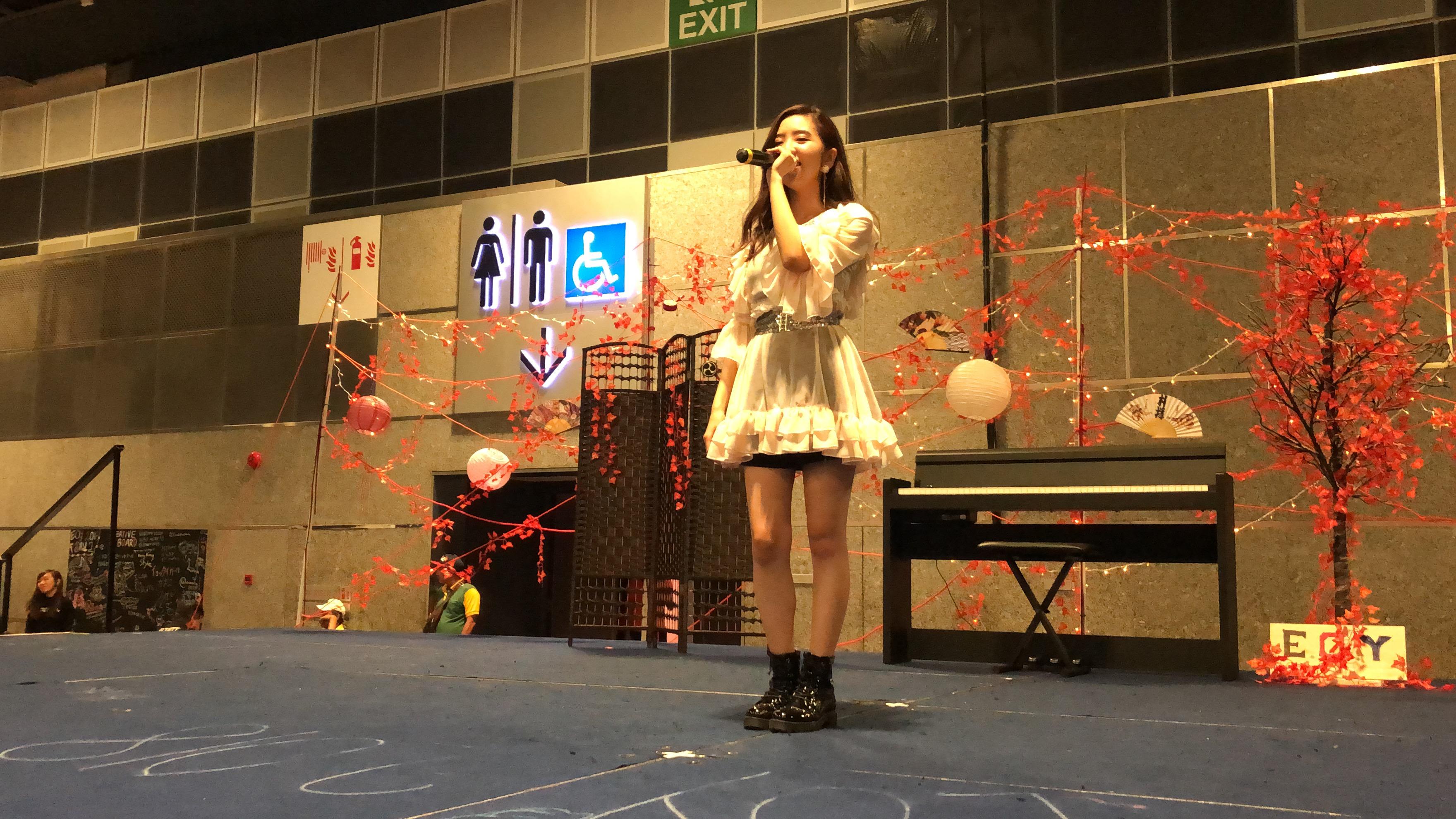 濵松里緒菜のステージ