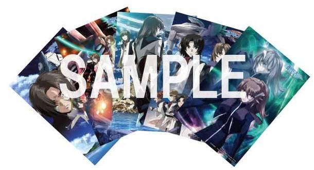 『蒼穹のファフナー』ポストカード5枚セット(C)XEBEC・竜宮島役場