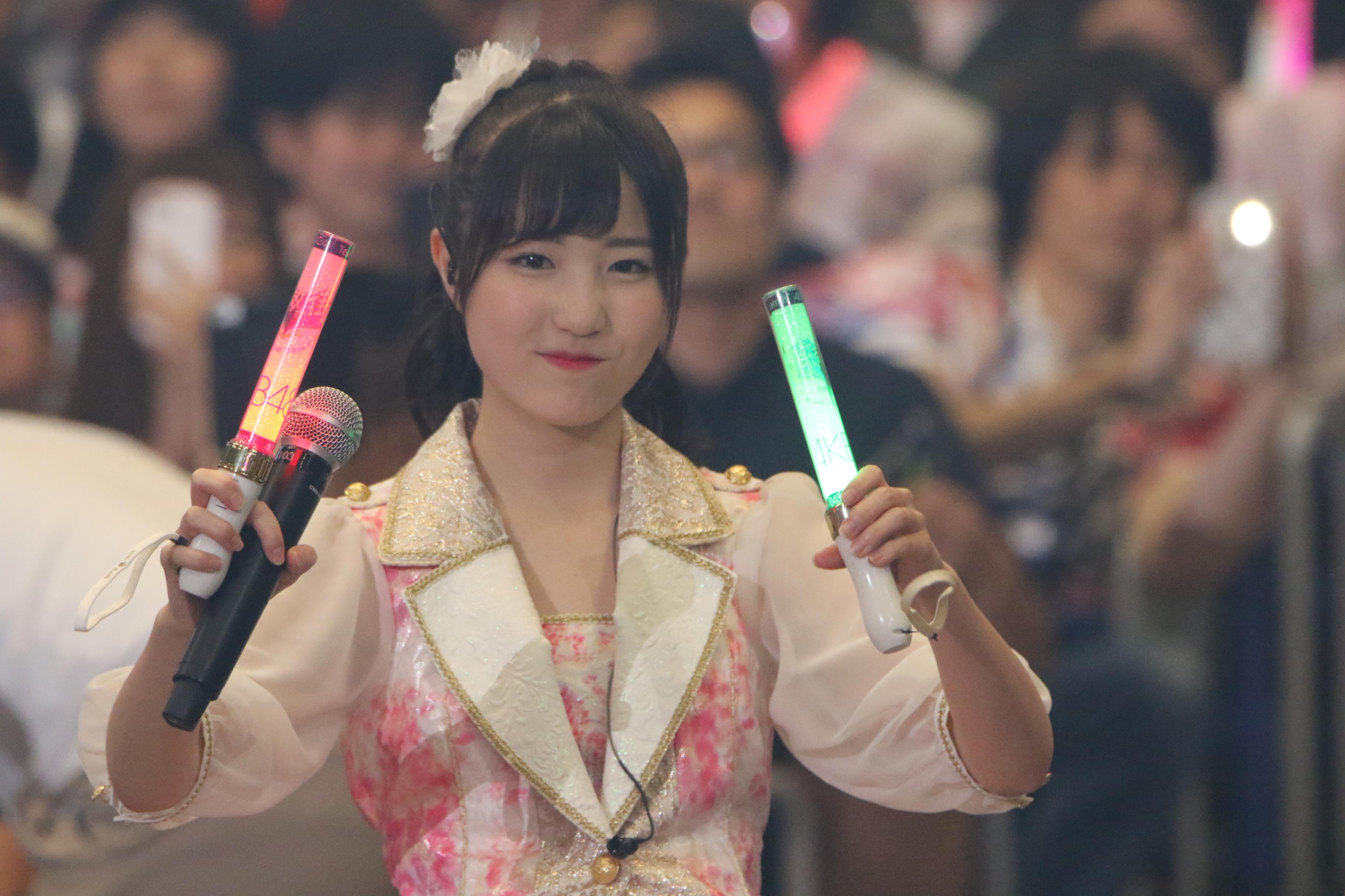 総選挙ランクインコンサートでの本田仁美