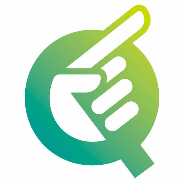 新インドアフェス『Q』ロゴ