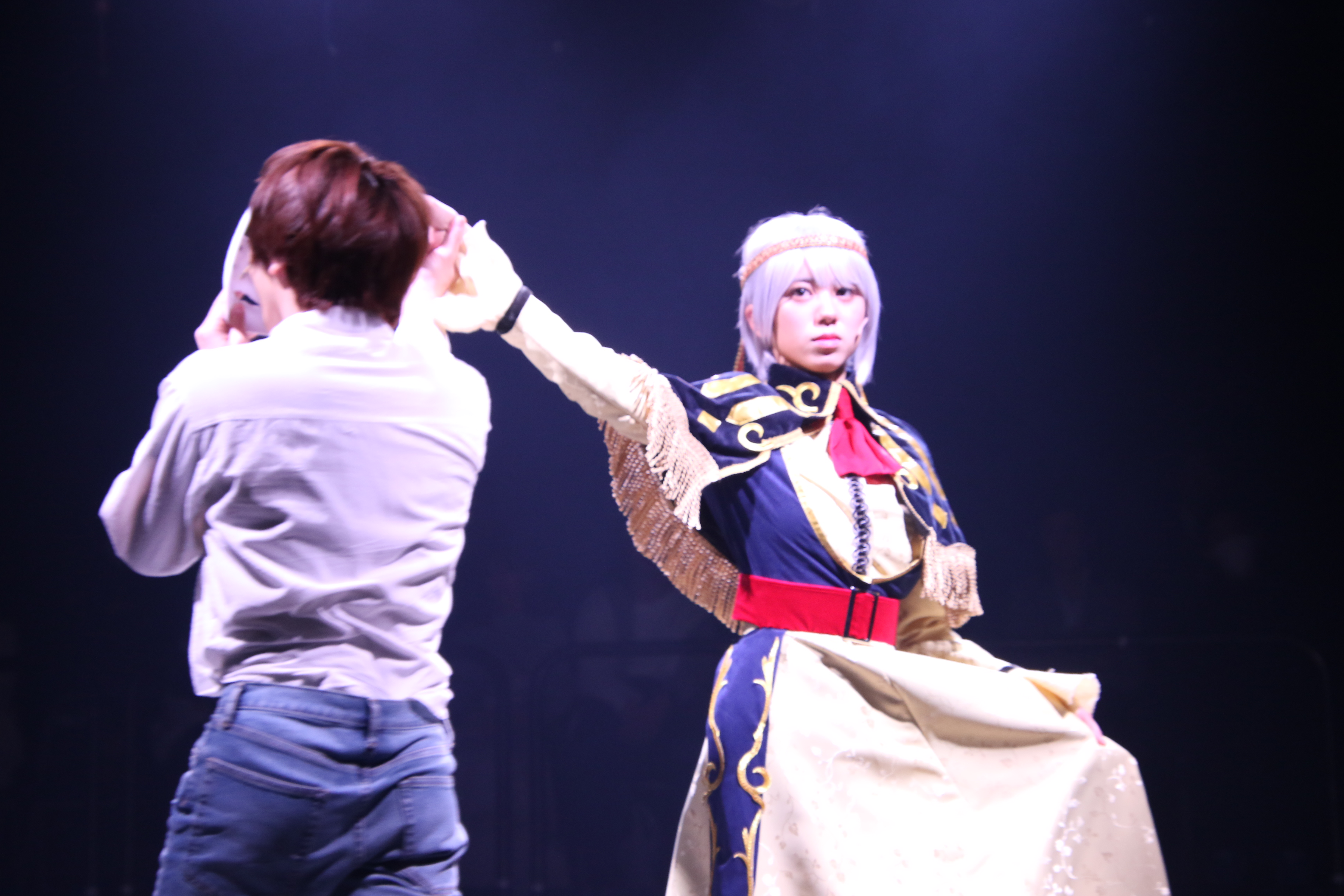 舞台劇「からくりサーカス」(ゲネ)での大西桃香