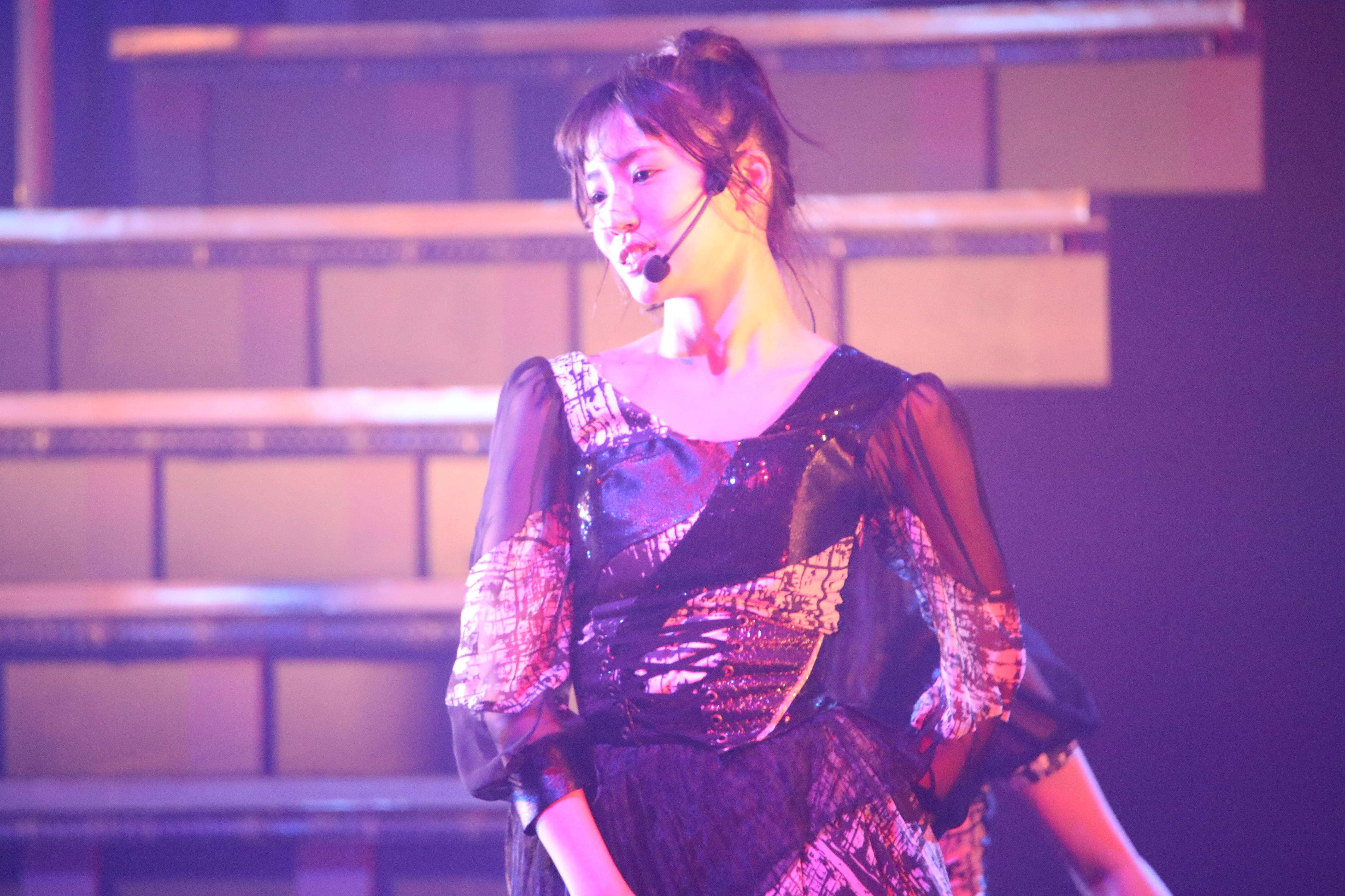 「AKB48チームA単独コンサート~美しき者たち~」での下尾みう