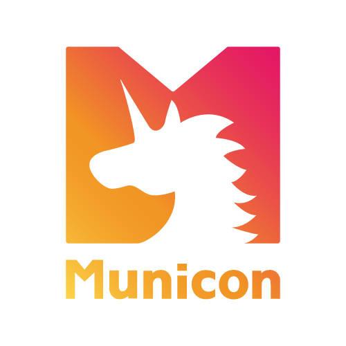 """日・韓共同プロジェクト""""Municon(ミュニコン)""""ロゴ"""