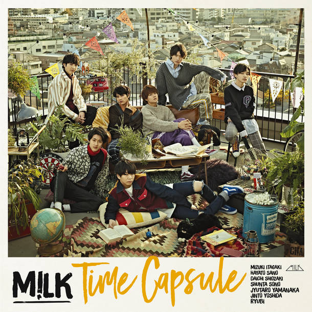 アルバム『Time Capsule』【初回限定盤(Blu-ray付)】