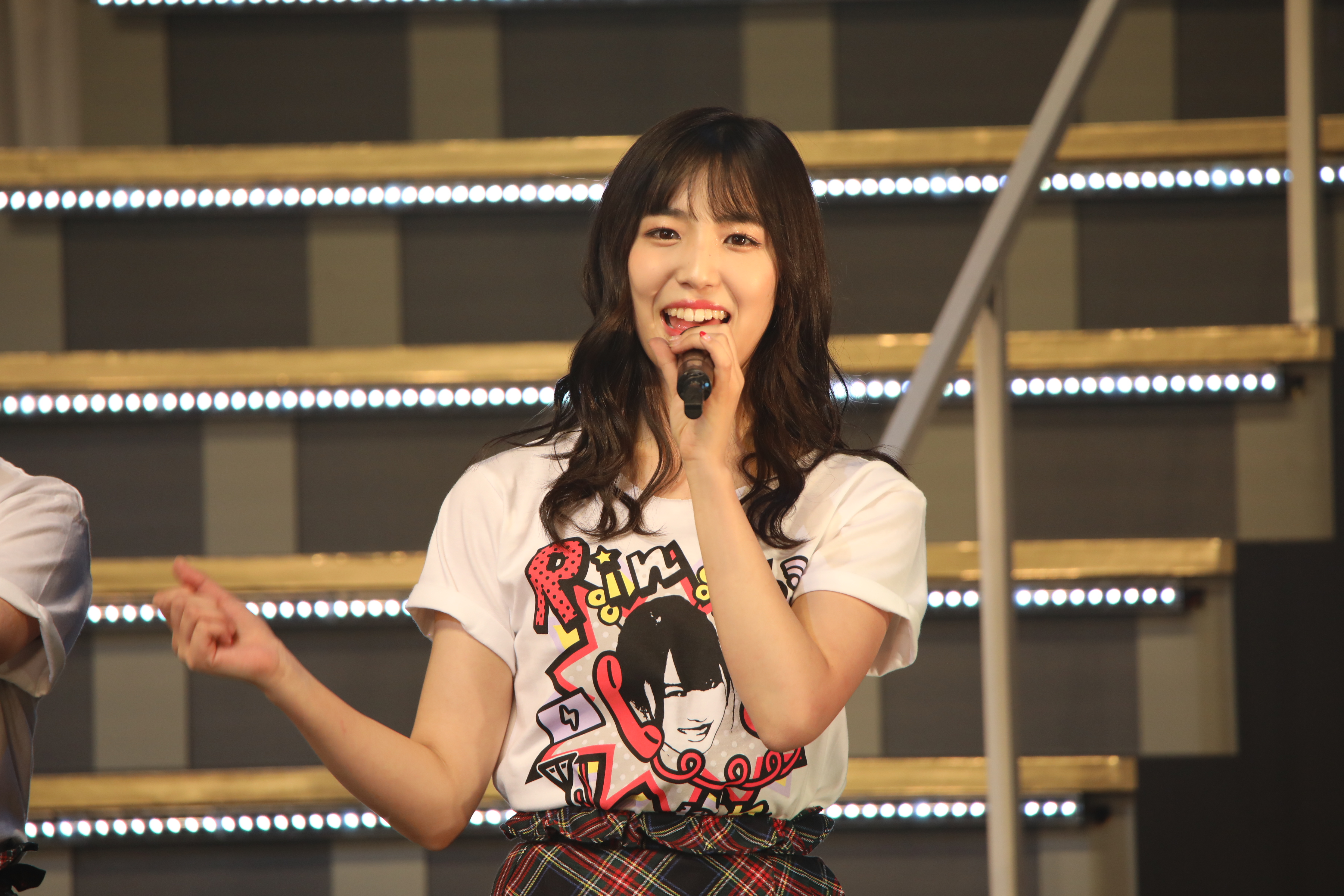 AKB48岡部麟ソロコンサートでの下尾みう
