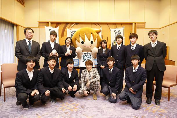 滋賀県庁訪問時