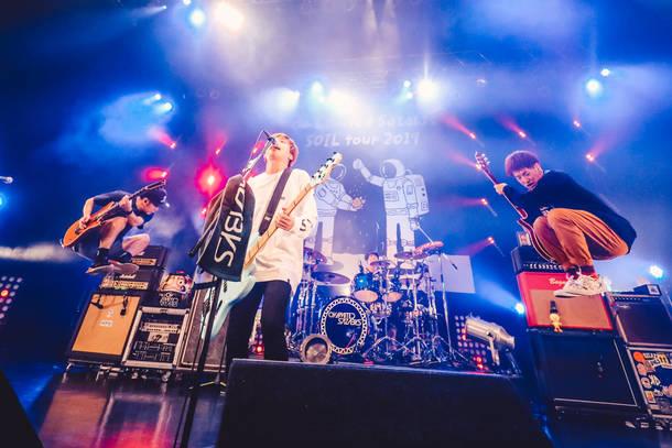 【04 Limited Sazabys  ライヴレポート】 『SOIL tour 2019』 2019年1月16日 at Zepp Tokyo