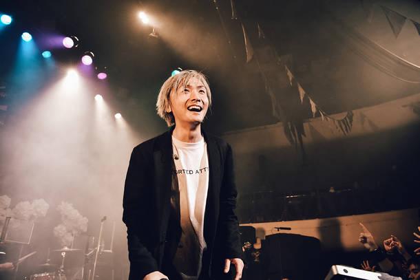 1月25日@東京キネマ倶楽部 Live photo by 佐藤祐介