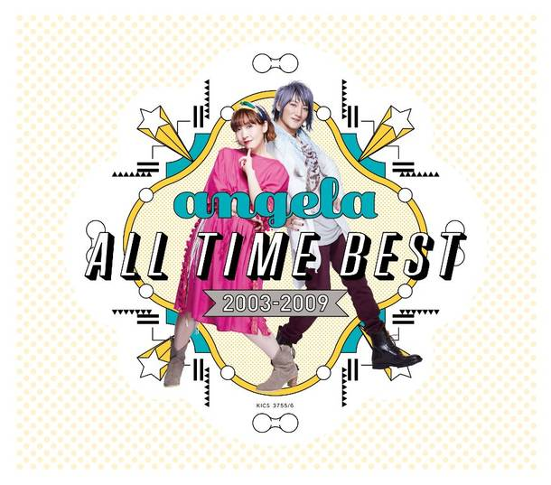 アルバム『angela All Time Best 2003-2009 』