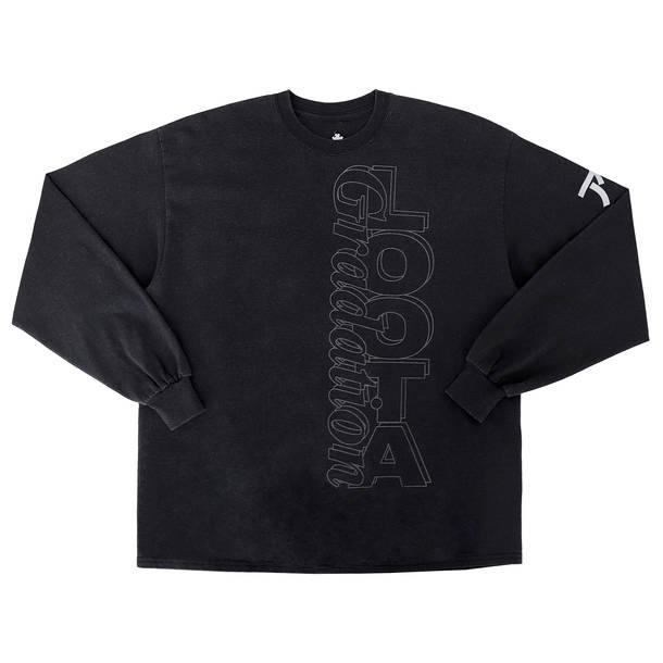 Brendan FowlerデザインによるロングTシャツ(FRONT)