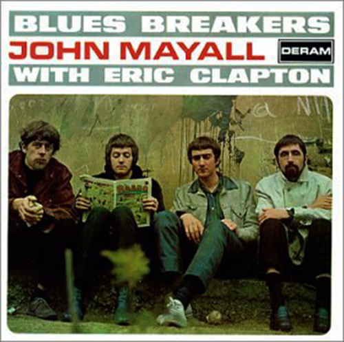 『Blues Breakers with Eric Clapton』('66)/John Mayall & the Bluesbreakers