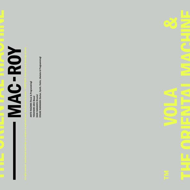 配信シングル「MAC-ROY」