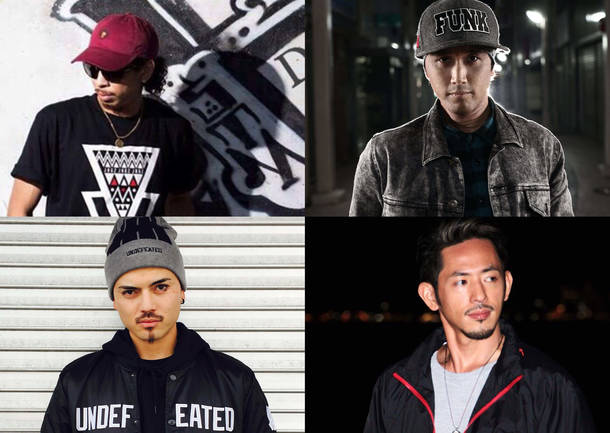 EDDY/HA-JI/MARK/YU-KI(DANCER)
