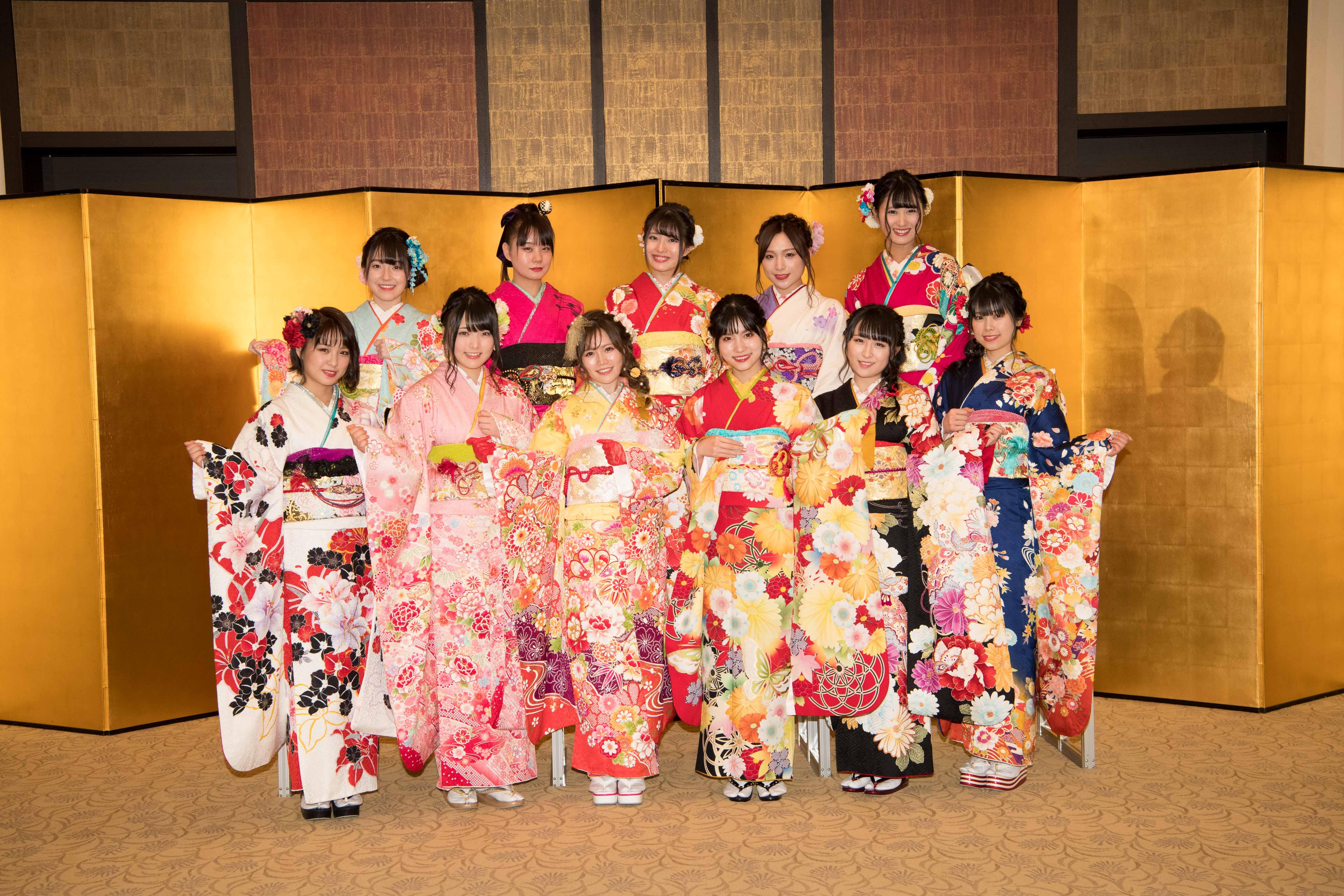 AKB48成人式でのAKB48メンバー