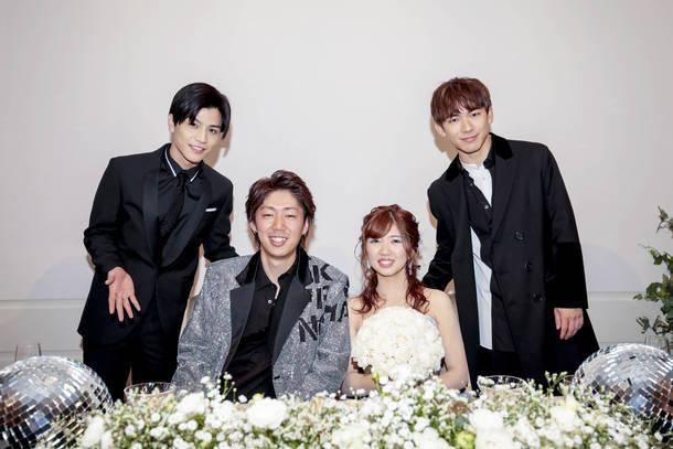 『LDH wedding』第1号カップル