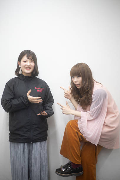 G-NEXT POWER PUSH !  ましのみ×林 なな(日本工学院専門学校 蒲田校コンサート・イベント科)