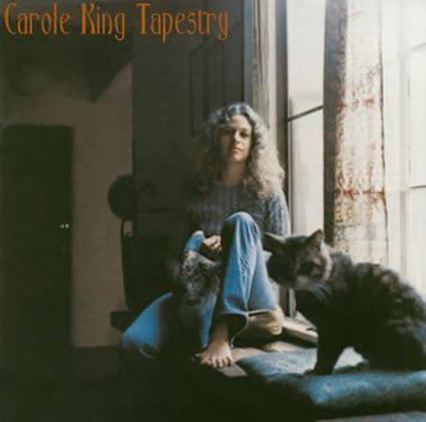「Feel The Earth Move」収録アルバム『Tapestry(つづれおり)』/Carole King