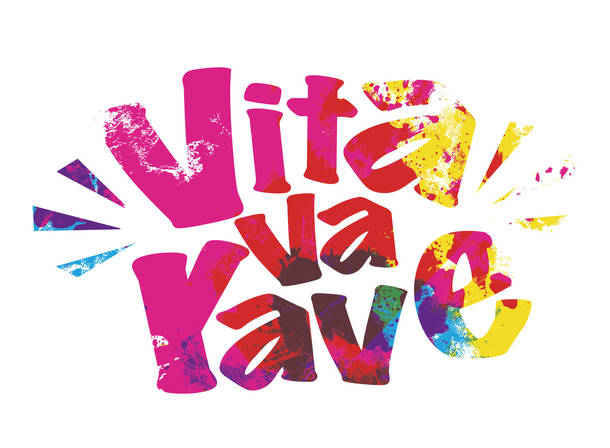 『shibuya circuit live Vita va rave』ロゴ