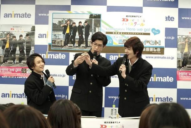 2月28日@アニメイト新宿 B2F animate hall SHINJUKU