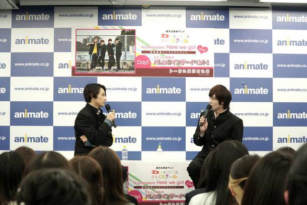 2月27日@アニメイト新宿 B2F animate hall SHINJUKU
