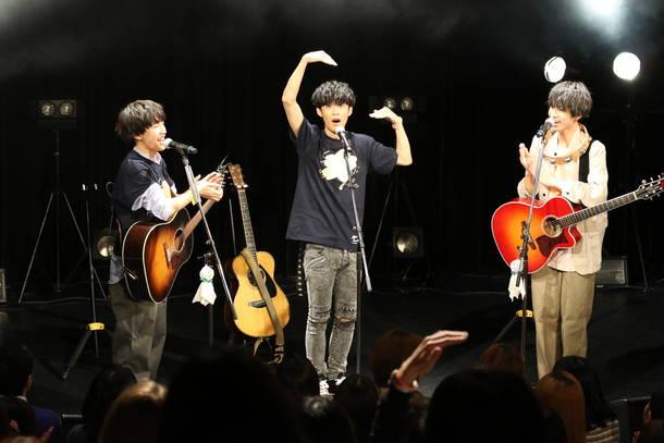 3月8日(金)@東京・渋谷WWW(大石昌良×さくらしめじ) Photo by 大庭 元