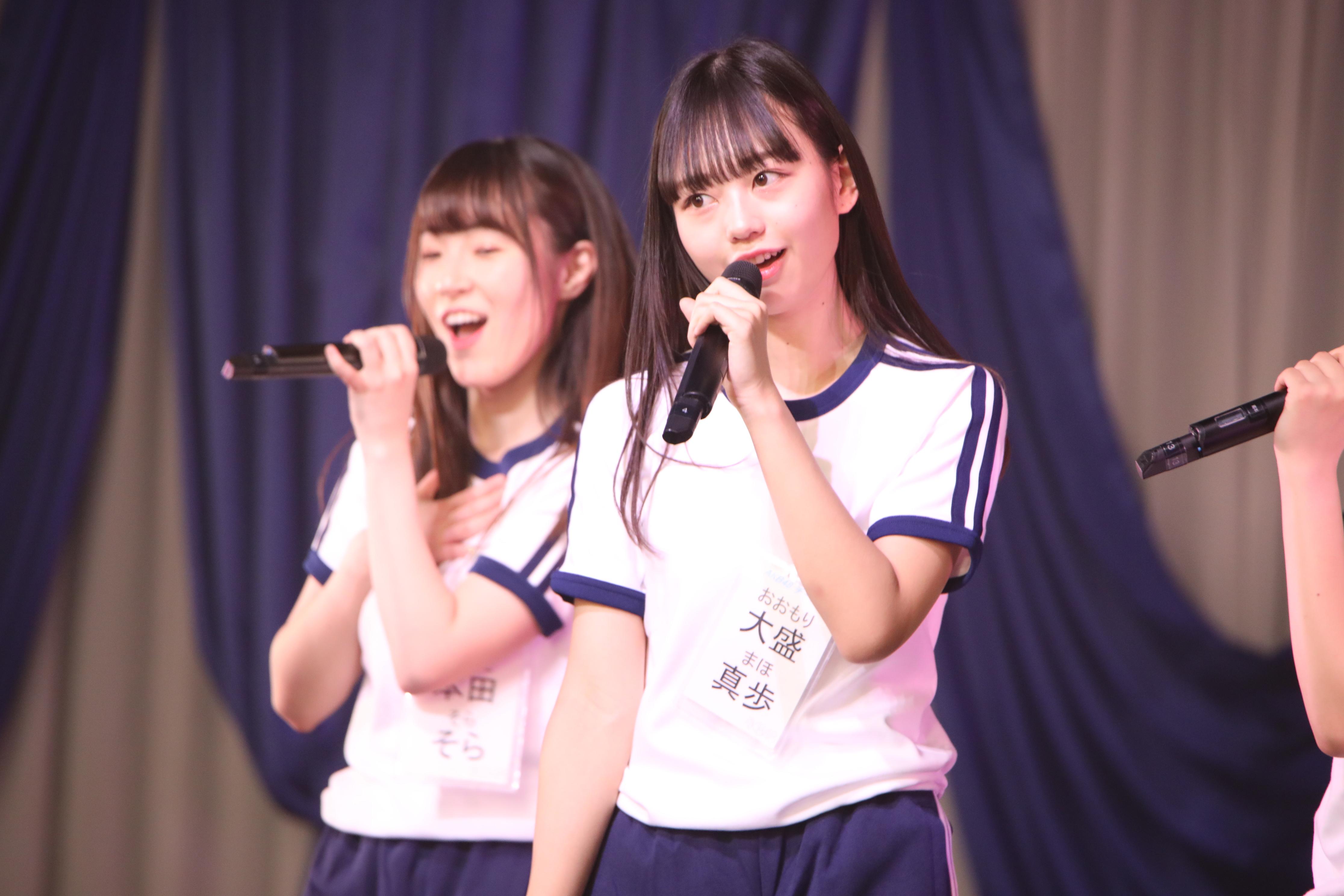 大盛真歩(2019年1月の研究生コンサート)