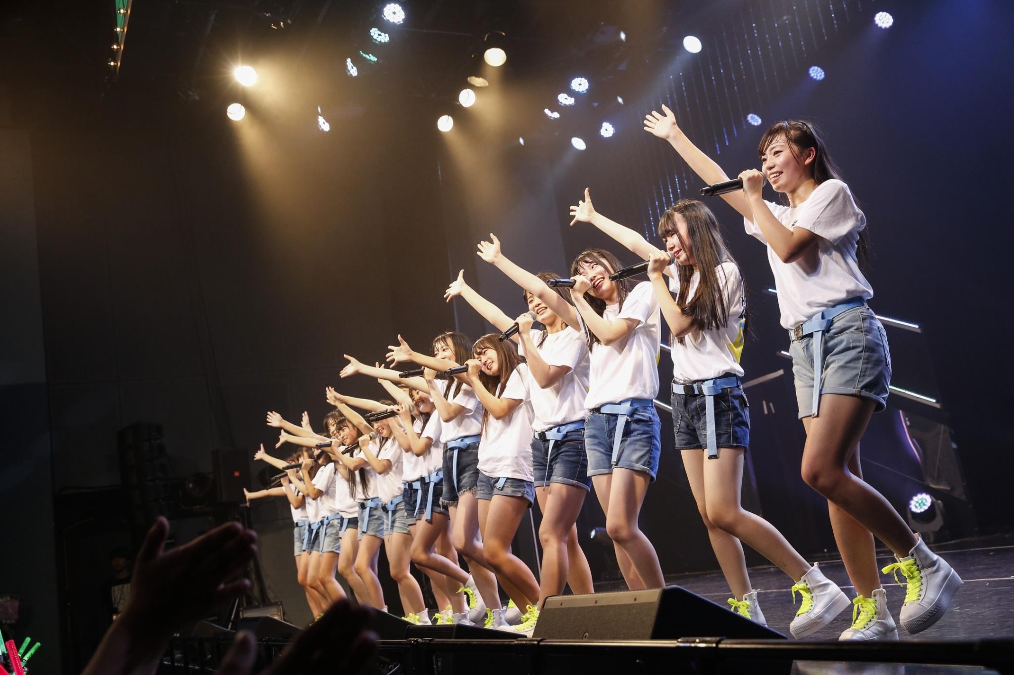 「転がる石になれ(HKT48 ver.)」 (C) AKS
