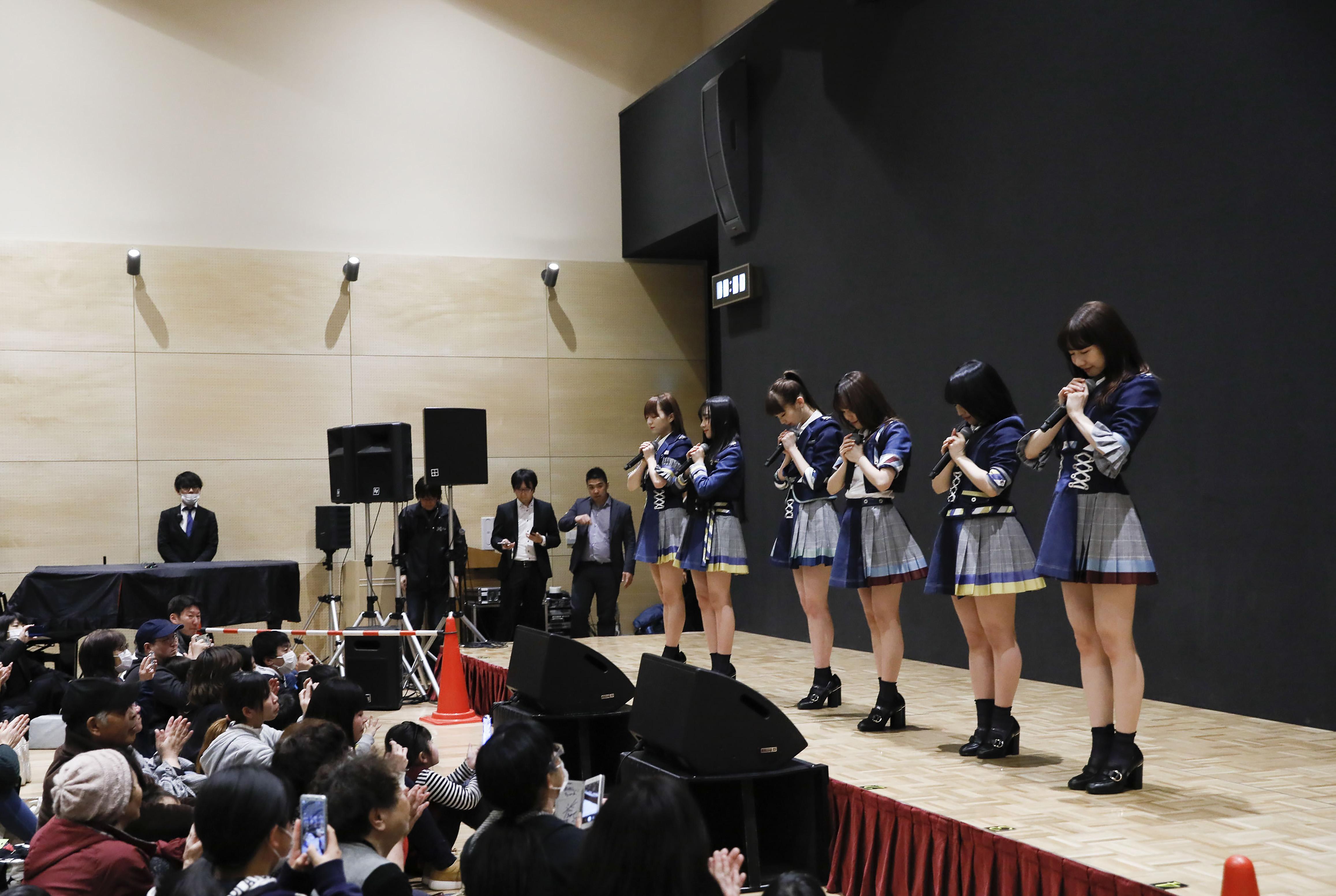 岩手県を訪問したAKB48グループメンバー
