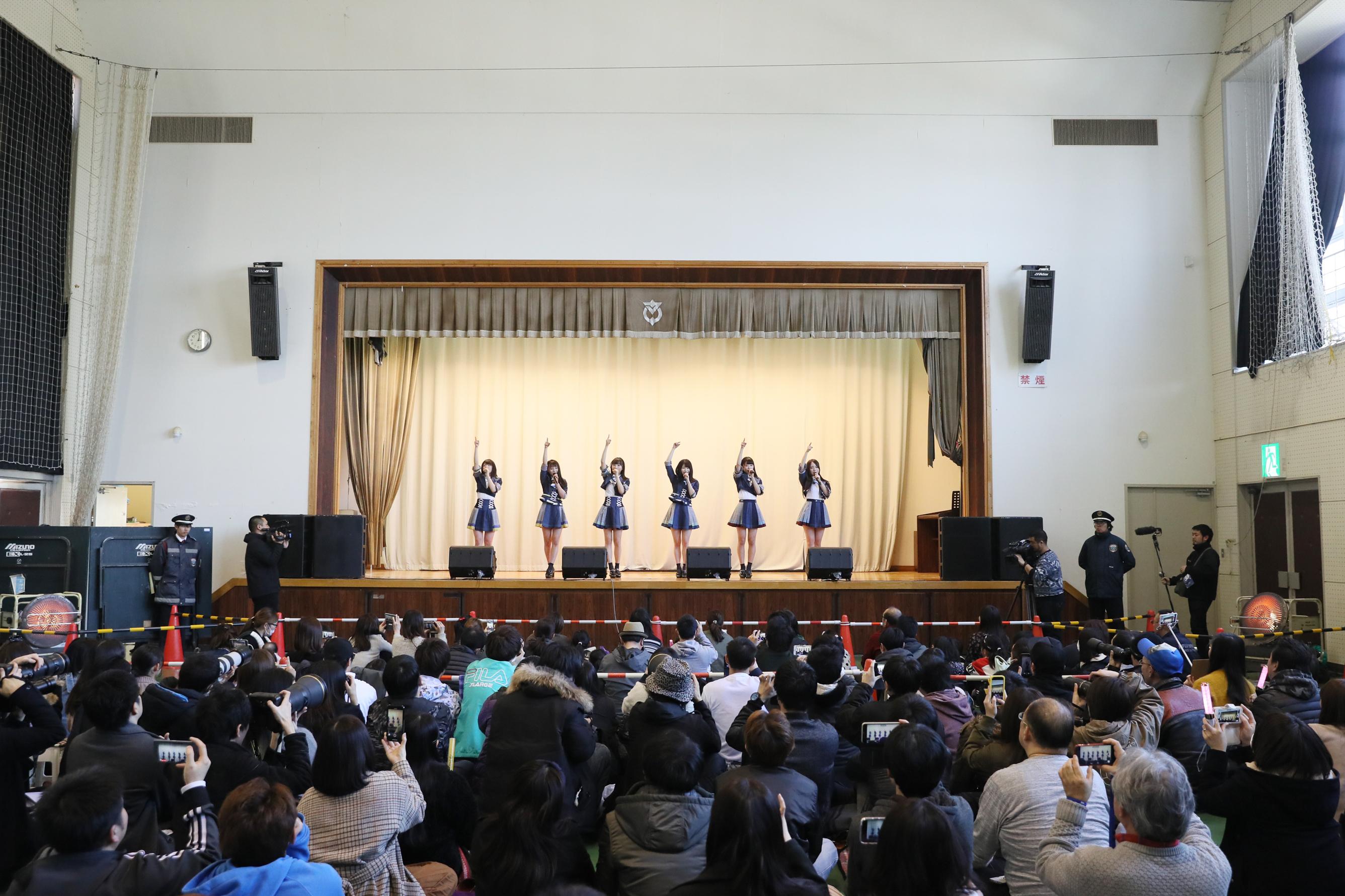 宮城県を訪問したAKB48グループメンバー